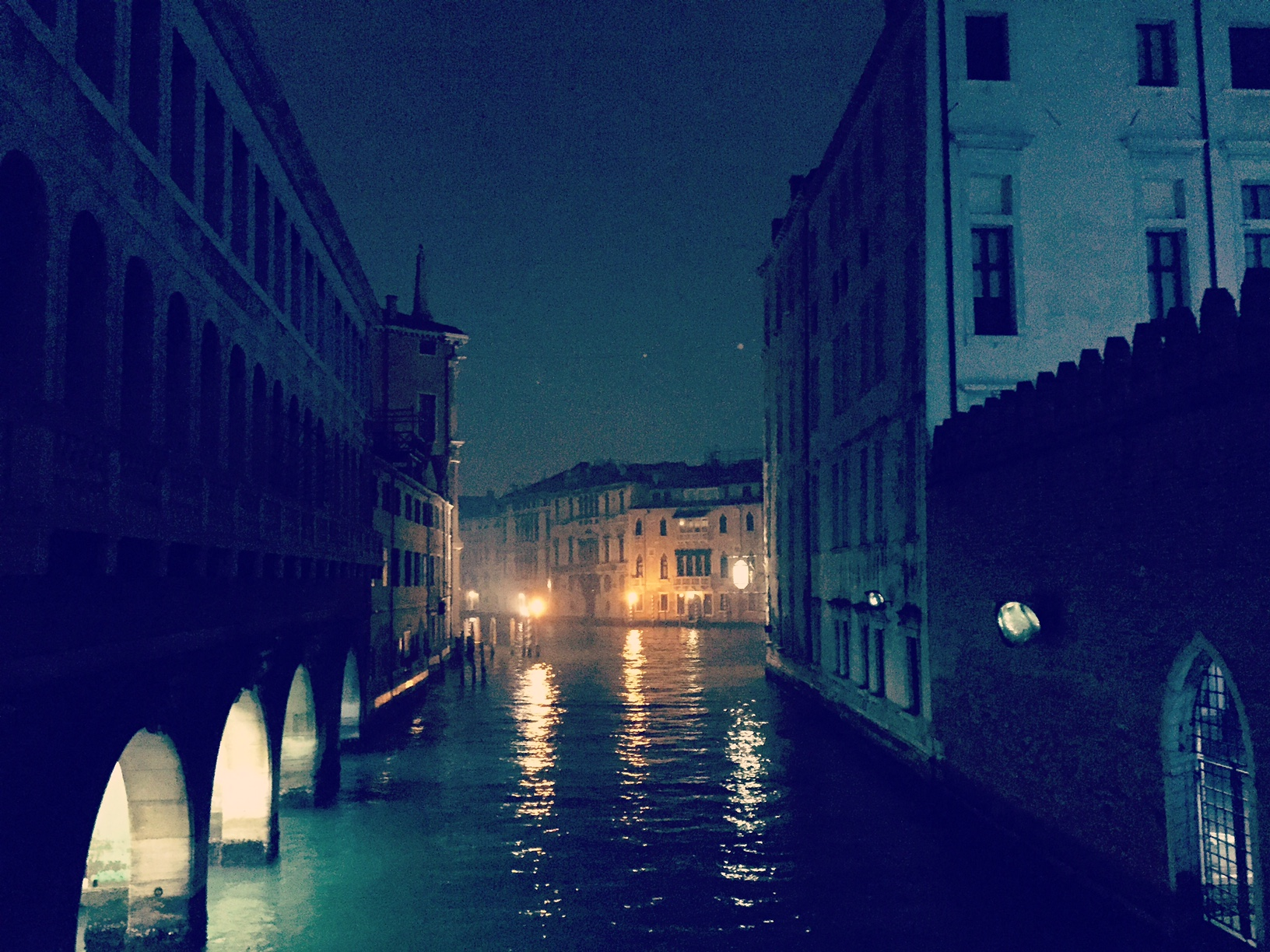 a night in Italy